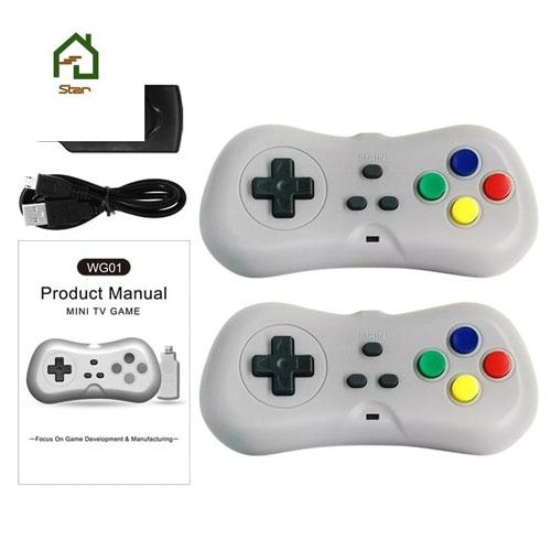 Máy Chơi Game 4K Điện Tử 4 Nút 638 Trò - Phiên Bản 2 Tay Cầm Chơi Game - Cắm Cổng HDMI - Kết Nối Không Dây (tặng chai dầu tràm hoa nén) Máy được giao theo màu ngẫu nhiên 3