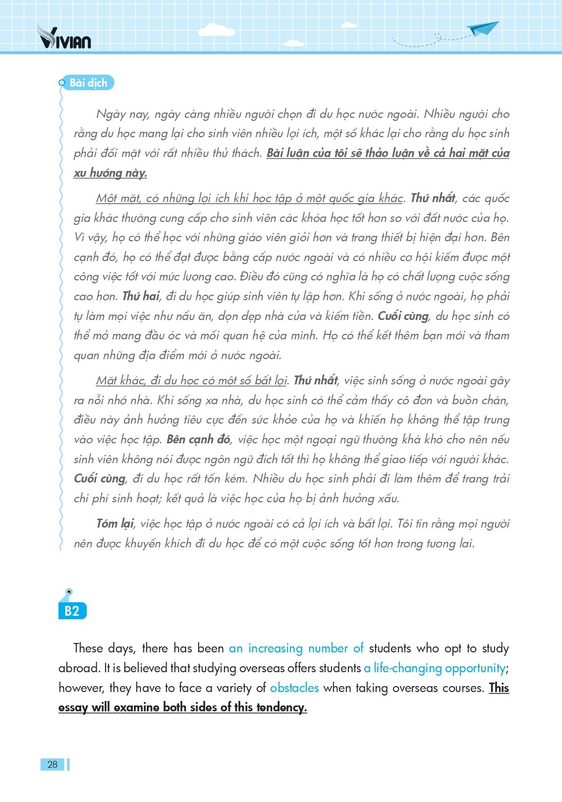 Sách Vstep writing essay_Bài dịch bài viết mẫu
