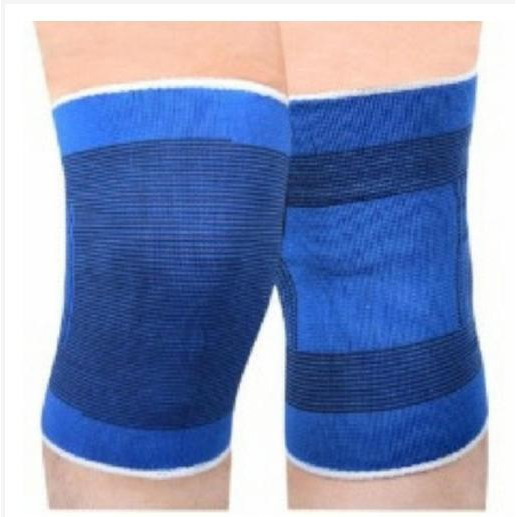 Băng bảo vệ đầu gối quấn gối, bảo vệ tránh chấn thương chạy thể dục giao màu ngẫu nhiên 1