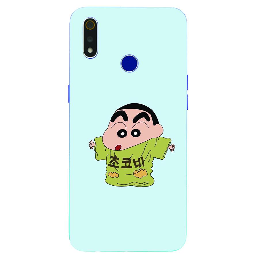 Ốp lưng điện thoại Oppo Realme 3 Pro - Shin mặc đồ của bố MS ADITU005