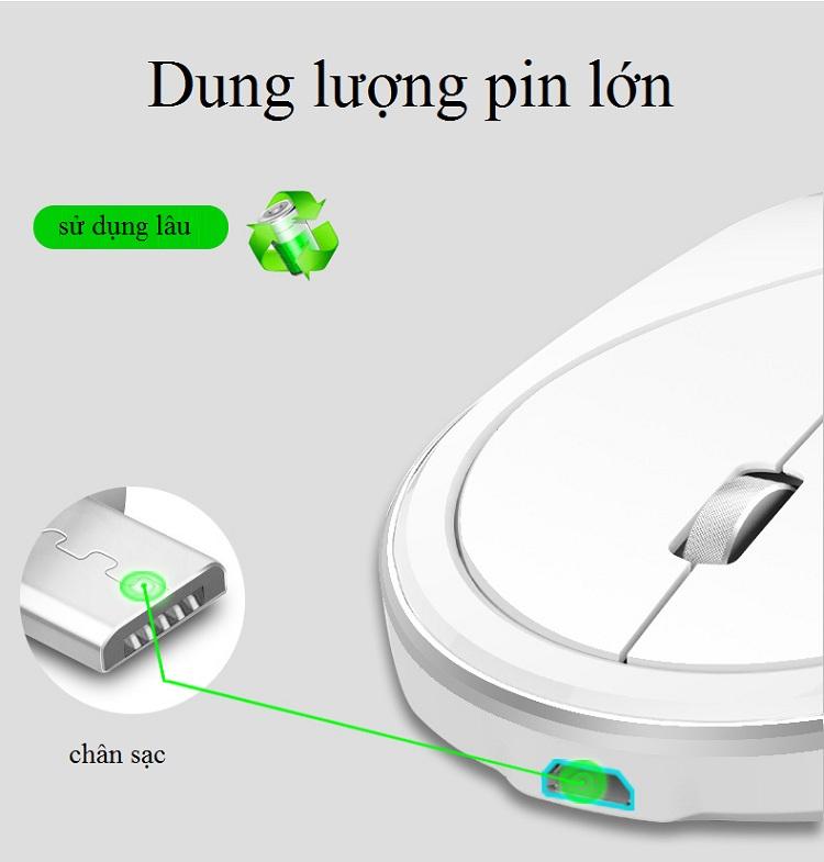 Bàn phím + chuột không dây cao cấp LT600 - Hàng cao cấp - Hàng nhập khẩu 4