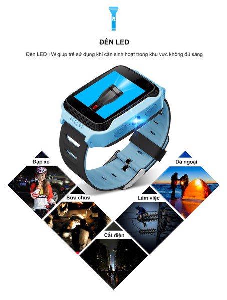 Đồng hồ định vị trẻ em GPS G900A thiết kế bắt mắt, hỗ trợ camera