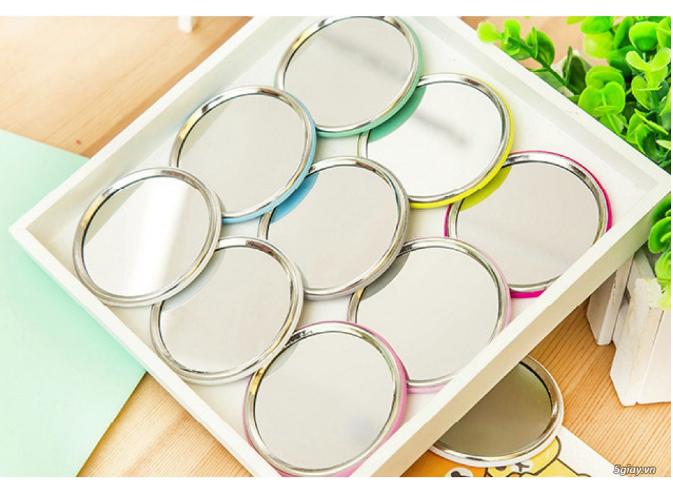 Combo 5 Gương mini bỏ túi siêu cute , nhỏ gọn xinh xắn thích hợp cho các bạn nữ có thể mang theo khắp mọi nơi GD222-GuongMN giao ngẫu nhiên 2