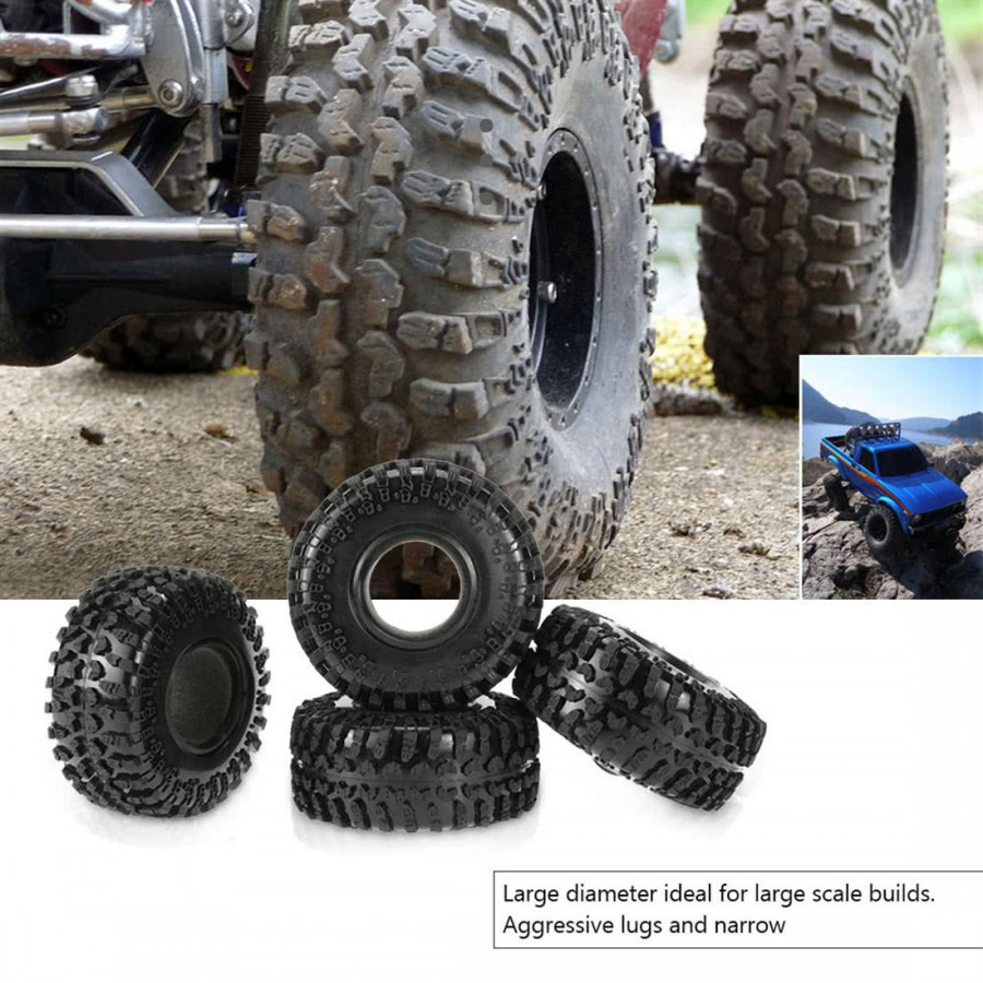 1/10 Rc4Wd D90 Axial Scx10 Rc Rock Crawler With 125 Mm 1/10 Tyres