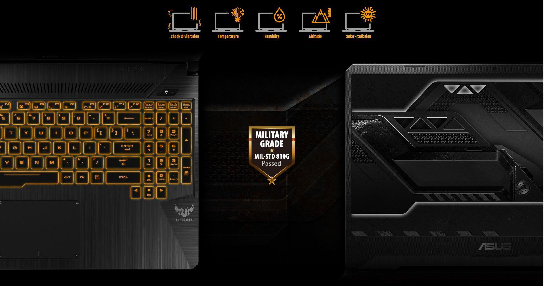 """Laptop Asus TUF Gaming FX505DD-AL186T AMD R5-3550H/ GTX 1050 3GB/ Win10 (15.6"""" FHD NanoEdge 120Hz) - Hàng Chính Hãng"""
