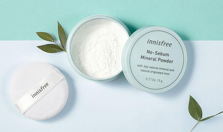 Phấn Phủ Kiềm Dầu Dạng Bột Khoáng Innisfree No Sebum Mineral Powder 5g - 131170490 5