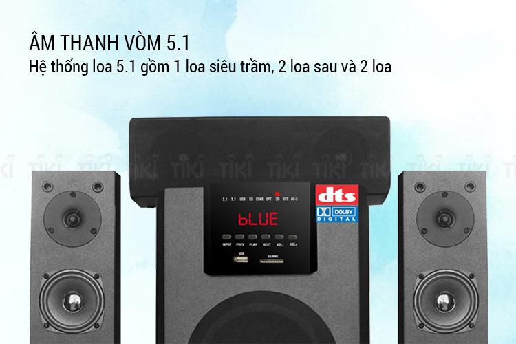 Dàn Âm Thanh Soundmax B60 5.1 - Hàng Chính Hãng