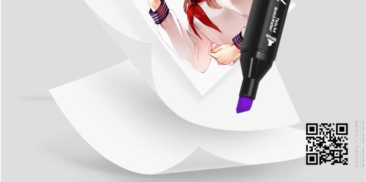 Bộ bút màu 30/40/60/80 Touch Cool cao cấp-Màu Vẽ Chuyên Nghiệp - Vẽ Anime, Truyện Tranh Manga, Phong Cảnh, Thiết Kế Thời Trang, Đồ Họa, Mỹ Thuật Công Nghiệp - Hàng chính hãng HT SYS