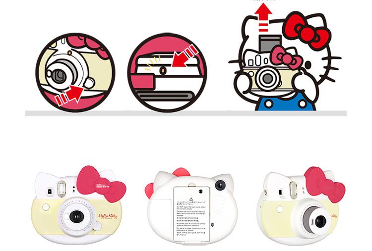 Máy Ảnh Chụp Lấy Liền Fuji (FUJIFILM) INSTAX - Kiểu Dáng Hello Kitty