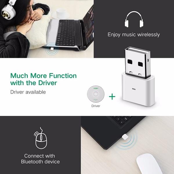 USB Bluetooth 4.0 Ugreen 30443 - Hàng Chính Hãng