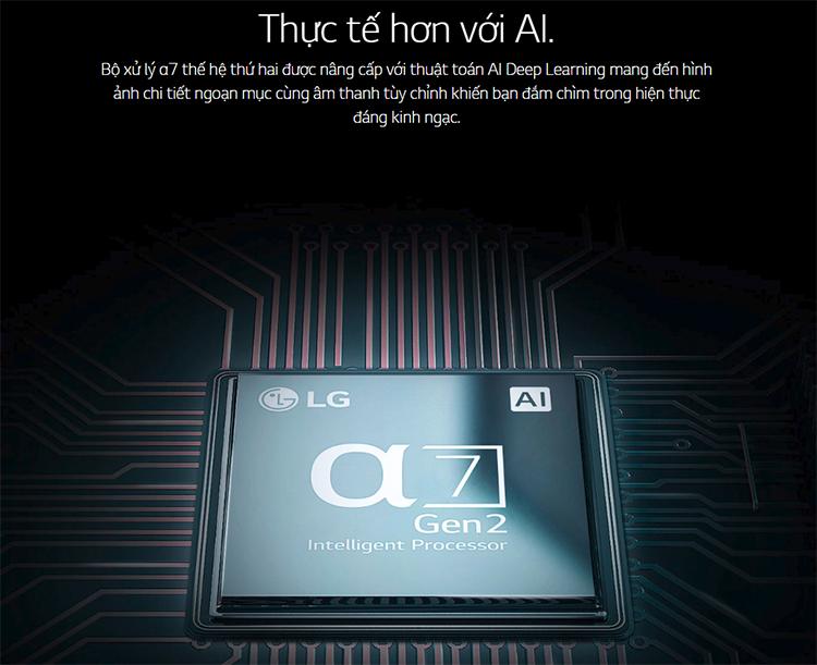 Smart Tivi LG 86 inch 4K UHD 86UM7500PTA - Hàng Chính Hãng