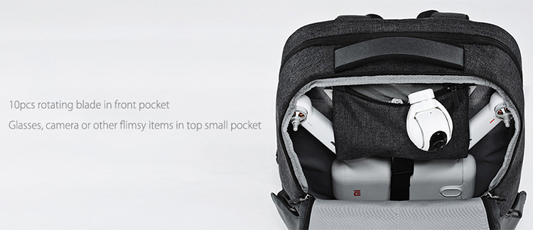 XIAOMI MI Multifunctional Travel Business Backpack 26L for Mi Drone 15.6 Inch Laptop Notebook