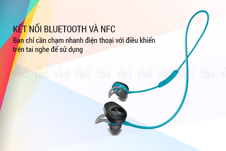 Tai Nghe Bluetooth Thể Thao Bose SoundSport Wireless - Hàng Chính Hãng