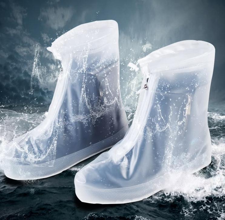 JAYSON Waterproof  Anti-slip Transparent Rain Boot /  Raincoat / Electric vehicle canopy