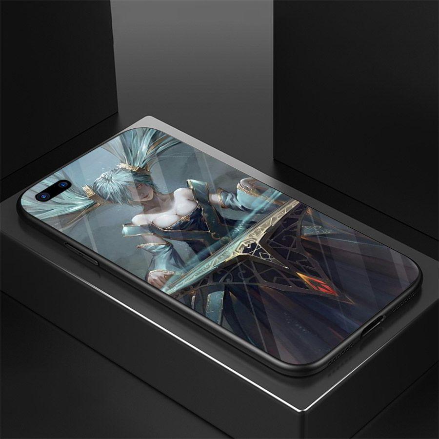Ốp kính cường lực dành cho điện thoại Oppo A3S/A5/realme C1 - liên minh huyền thoại - lmht143