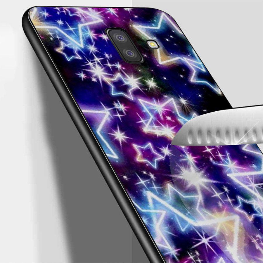 Ốp lưng cứng viền dẻo dành cho điện thoại Samsung Galaxy J6 - Lung Linh Sắc Màu MS LLSM028