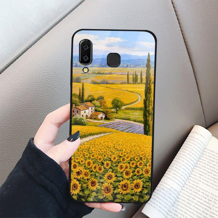 Ốp kính cường lực dành cho điện thoại Samsung Galaxy A7 2018/A750 - A8 STAR - A9 STAR - A50 - phong cảnh - canh001
