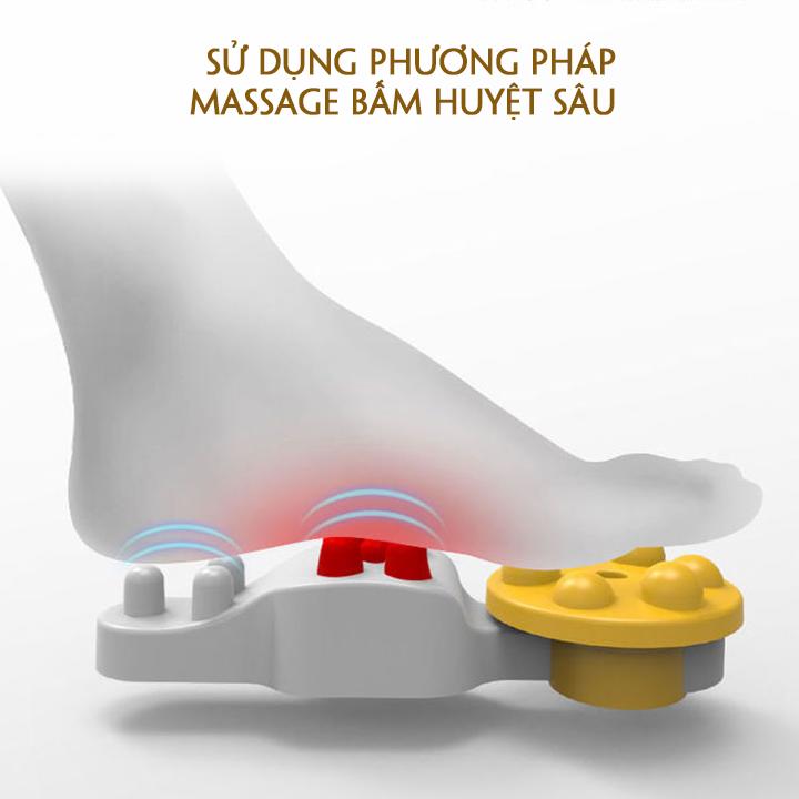 Máy Massage Chân Cao Cấp, Massage Bấm Huyệt Chân. Trang Bị Túi Khí Cảm Biến Nhiệt Hồng Ngoại. Nâng Cao Sức Khỏe Gia Đình Bạn. 9