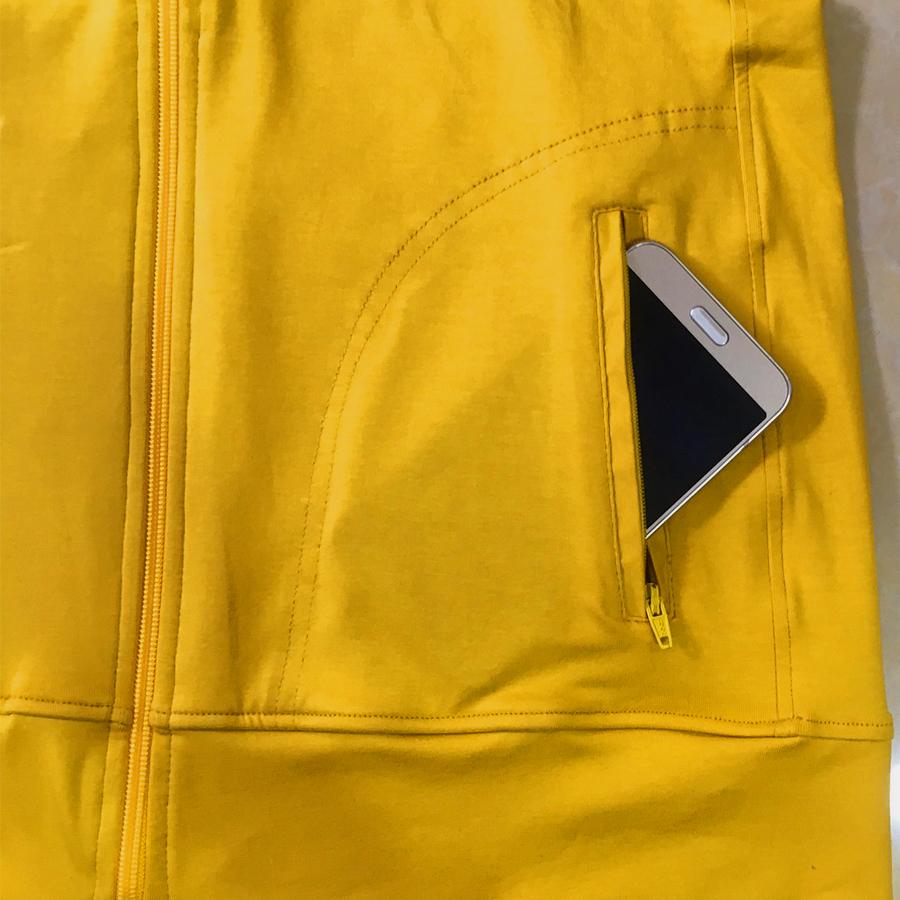 Áo khoác nữ thoát nhiệt Nhật Bản GOKING, áo chống nắng 100% cotton thoáng mát, thấm hút mồ hôi 5