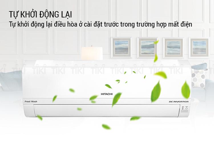 Máy Lạnh Inverter Hitachi RAS-XJ10CKV (1.0HP) - Hàng Chính Hãng