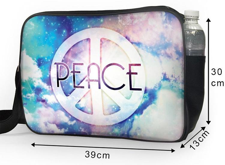 Túi Đeo Chéo Unisex Hộp Peace TCAM006