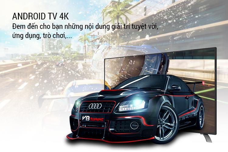 Smart Tivi Sharp 50 inch Full HD LC-50LE580X-BK