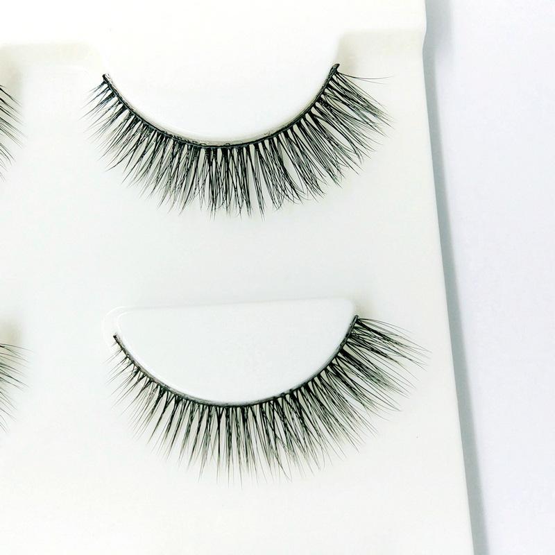 Lông mi giả lông chồn 3 Fashion Eyelashes 3 Faux-Cils 3D 1 bộ 3 cặp 71