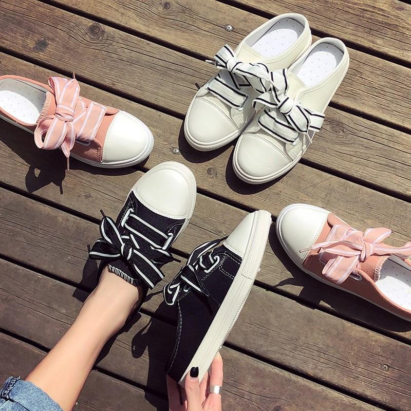 Giày Sục Sneaker Thể Thao Nữ Vải Mềm Stye Hàn Quốc Cực Xinh 3Fashion - 3181 1