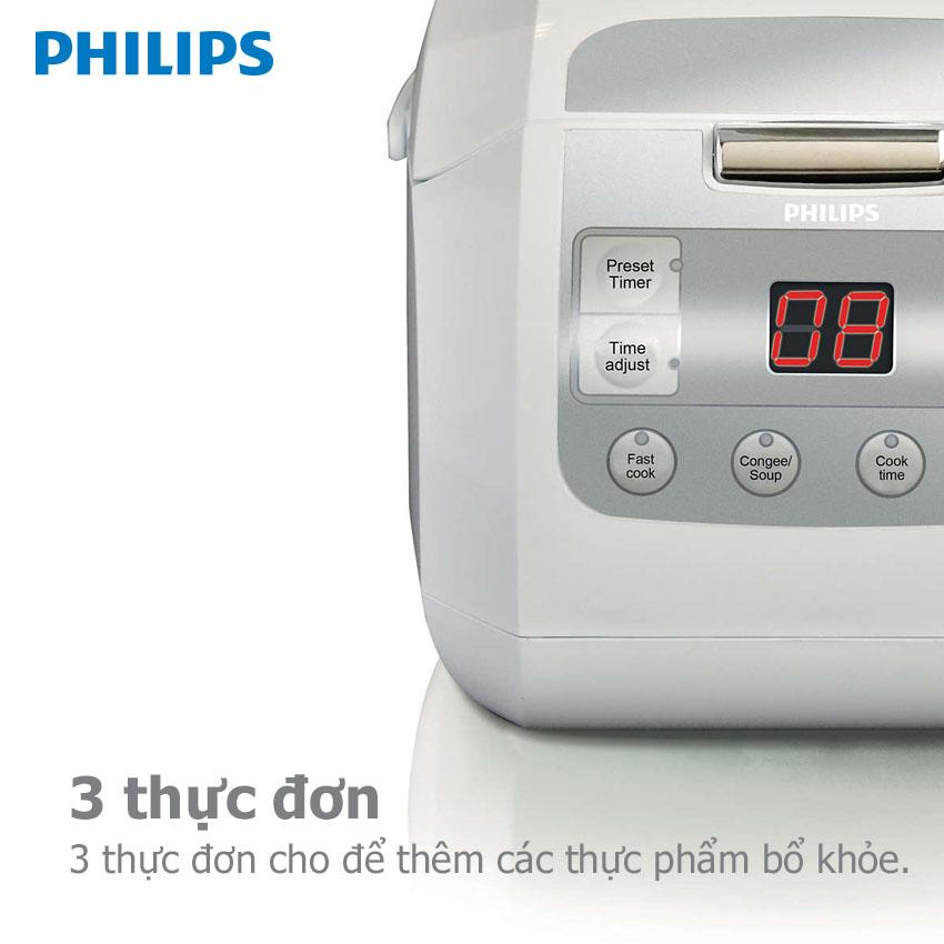 Nồi Cơm Điện Tử Philips HD3030 (1L)