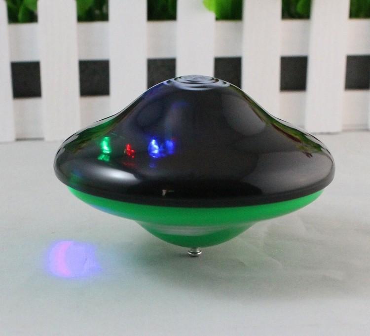 Con quay đồ chơi có đèn có nhạc - màu ngẫu nhiên 1