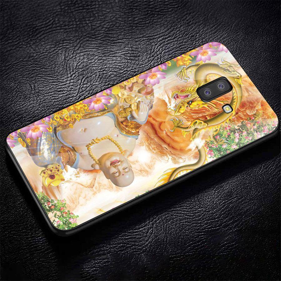 Ốp kính cường lực cho điện thoại Samsung Galaxy J6 PLUS - thần tài kim MS TTKIM075