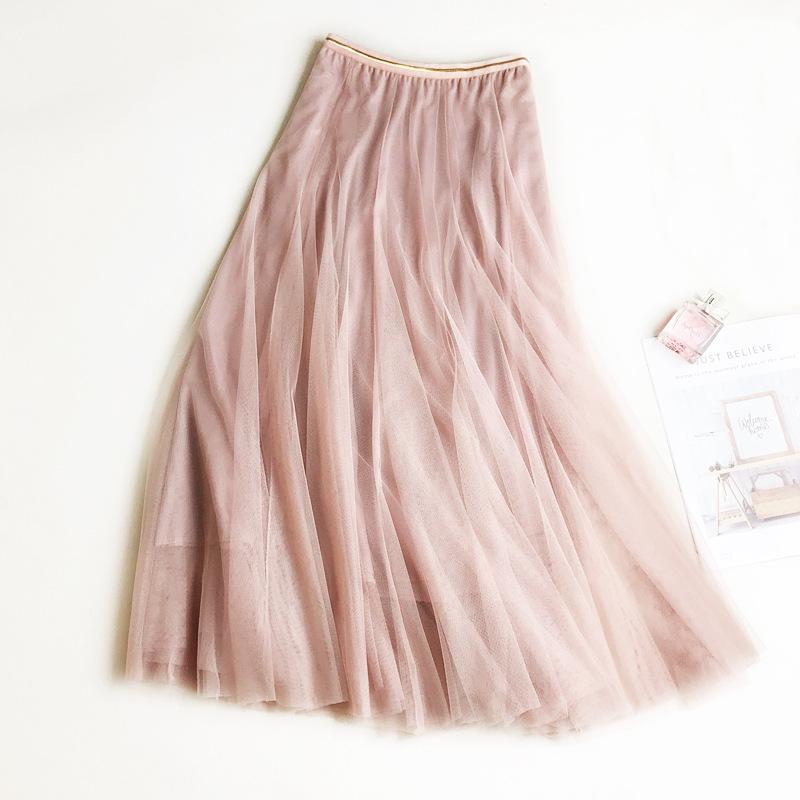Chân váy lưới tutu xòe nhiều tầng VAY49 free size 5