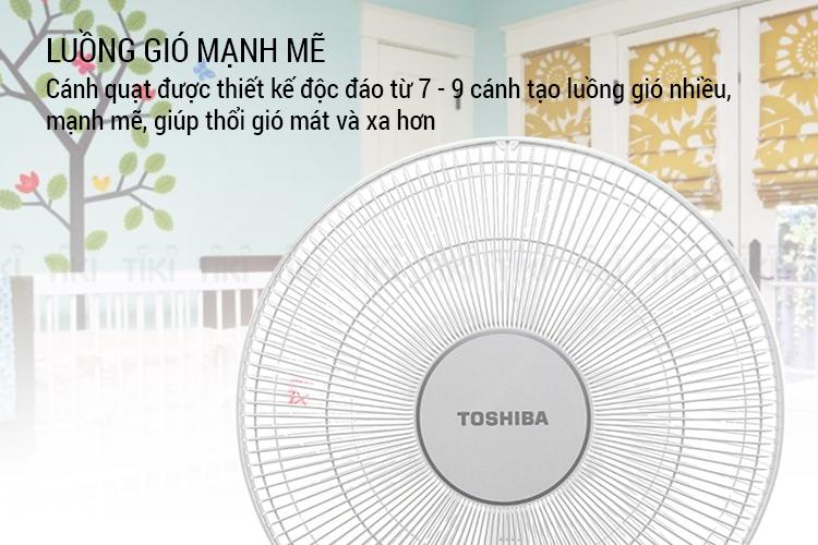 Quạt đứng Toshiba F-LSD10(W)VN - Hàng chính hãng