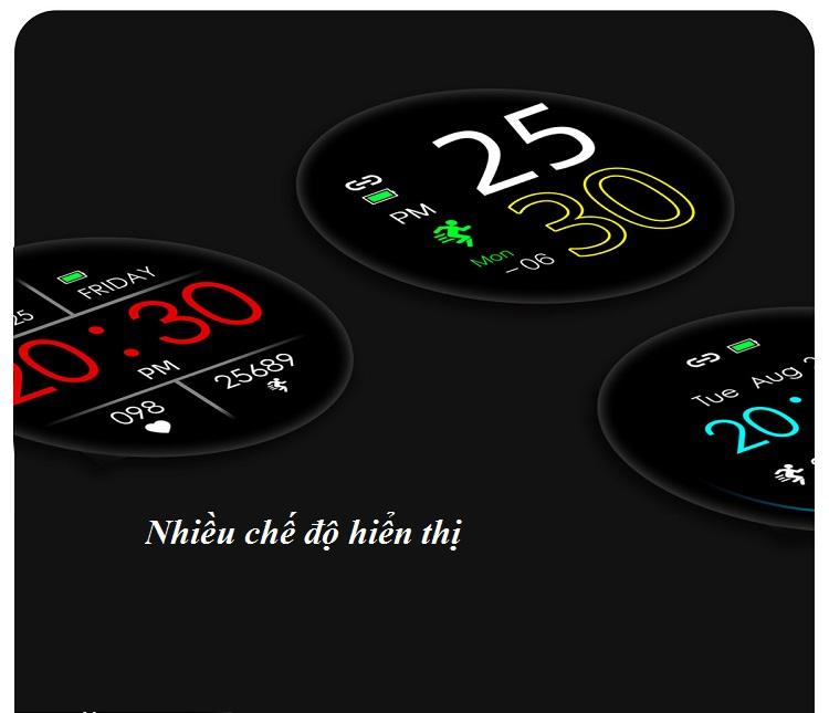 Đồng hồ thông minh đo nhịp tim, theo dõi sức khỏe T4 Pro ( Thiết kế sang trọng, chống nước cao IP68 ) - Hàng Nhập Khẩu 8