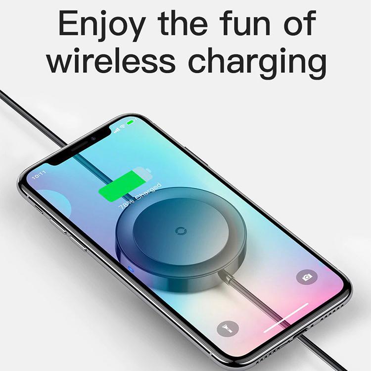 Cáp Sạc Tích Hợp Sạc Không Dây Baseus Wireless Charge Lightning Cable Cho iPhone 8/ Ipx/ Xs/ Rx / Ip Xs Max, Samsung S9/N9