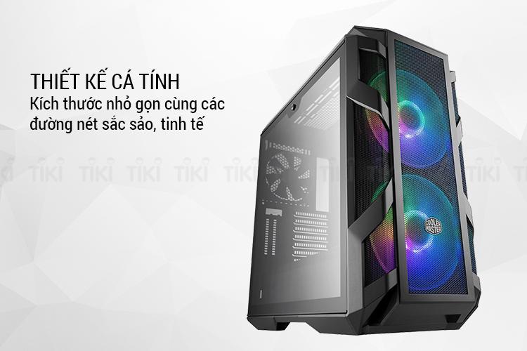 Vỏ case Cooler Master Mastercase H500M - Hàng Chính Hãng