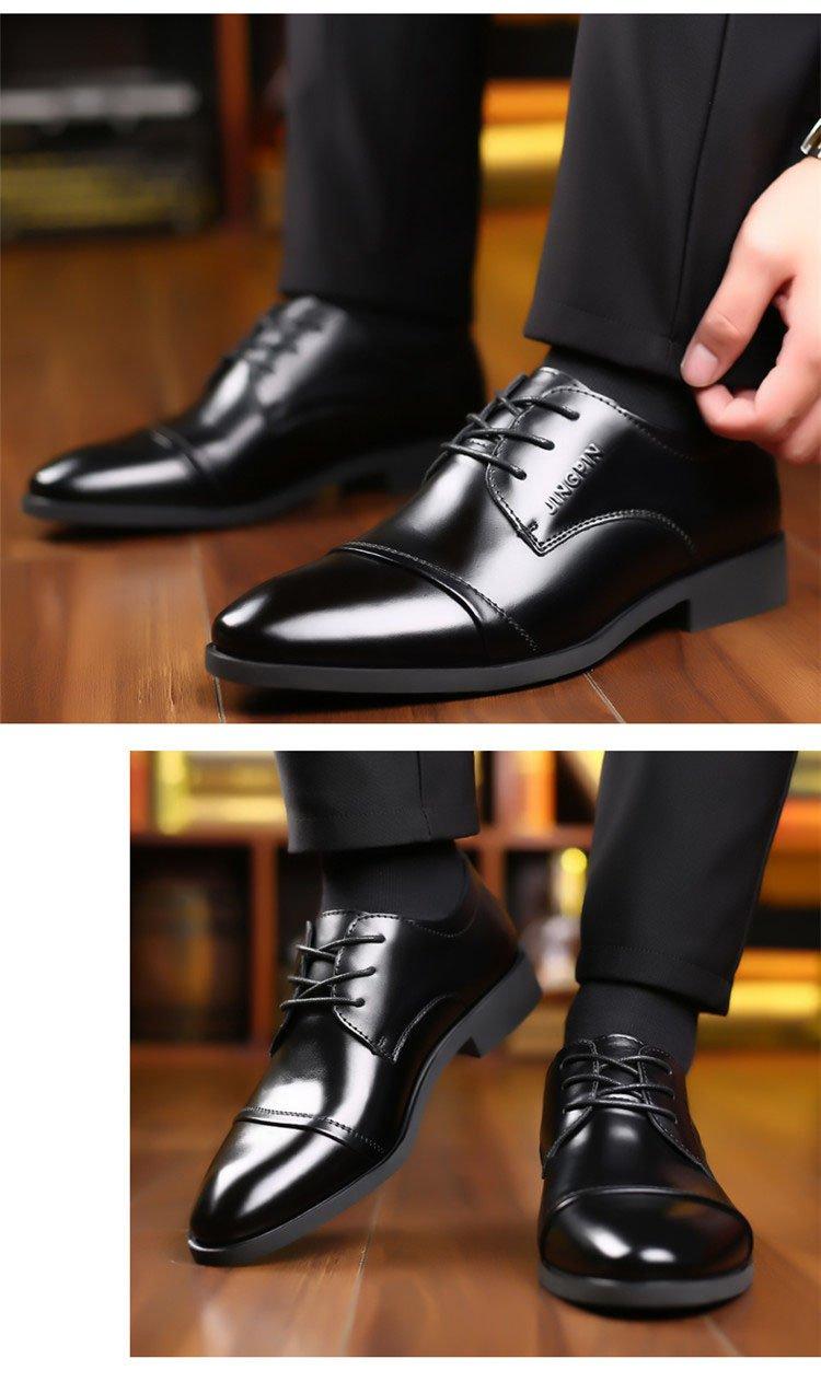 Giày da thật nam giày da nam cao cấp giày nam công sở sang trọng, phong cách thời trang giày da cao cấp giày nam mẫu mới mã 8867-A 11