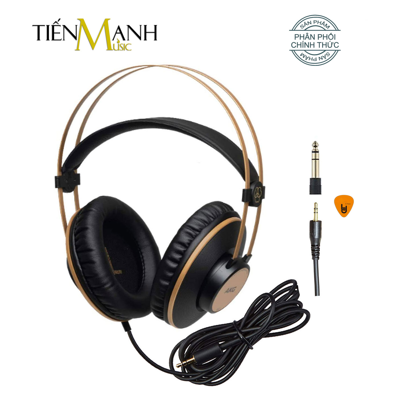 Chính Hãng Mỹ] Tai Nghe Kiểm Âm AKG K92 Over-Ear Studio Monitor Headphones  Professional - Kèm Móng Gẩy DreamMaker - Tai nghe có dây chụp tai  (Over-Ear)