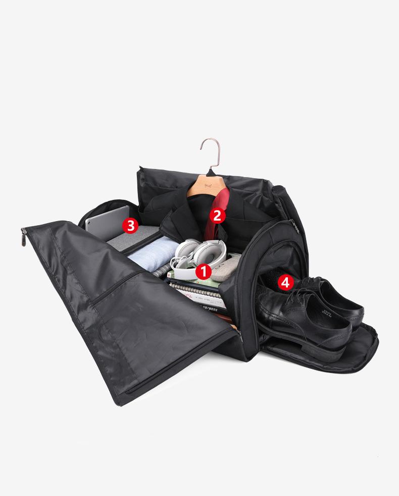 Túi xách du lịch cao cấp đa năng chống nước đẳng cấp doanh nhân 9