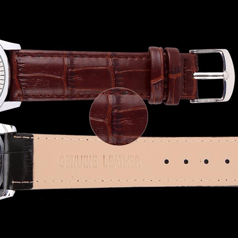 Đồng hồ nữ dây da Skmei 90TCK58 3