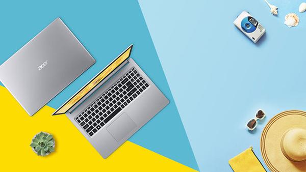 Laptop Acer Aspire 5 A515-54-51J3 NX.HN5SV.003 Core i5-10210U/ Win10 (15.6 FHD) - Hàng Chính Hãng