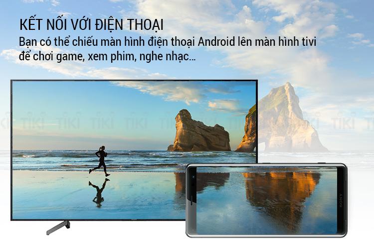 Smart Tivi Sony 55 inch 4K UHD KD-55X7000G
