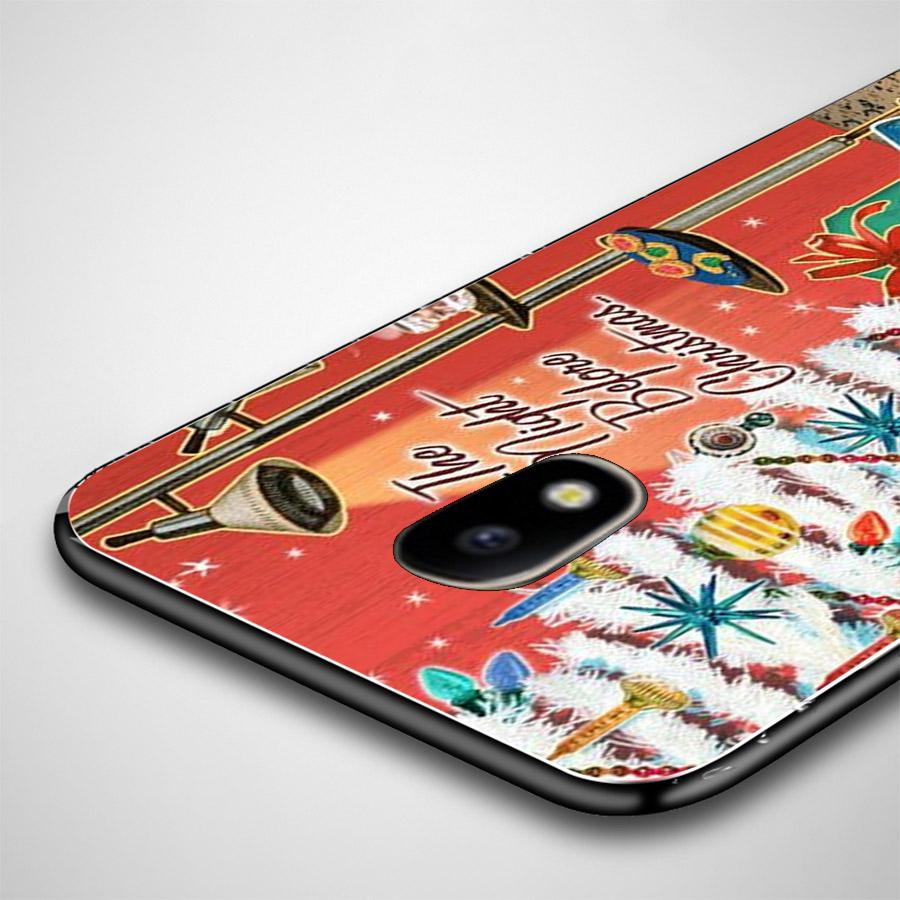 Ốp lưng cứng viền dẻo dành cho điện thoại Samsung Galaxy J2 Prime - giáng sinh đầm ấm MS GSDA019