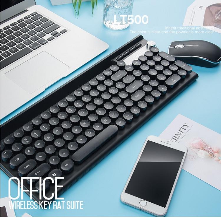 Bộ bàn phím và chuột không dây cao cấp -500 5