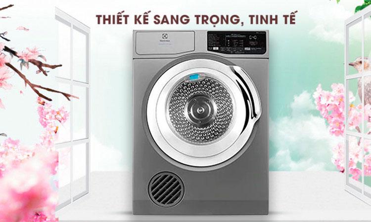 Máy Sấy Cửa Trước Electrolux EDS805KQSA (8kg) - Hàng Chính Hãng