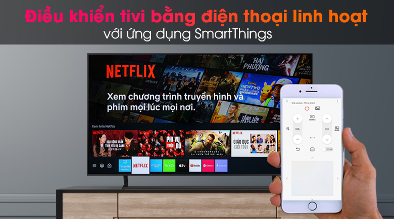 Smart Tivi Crystal Samsung 4K 43 inch UA43AU9000