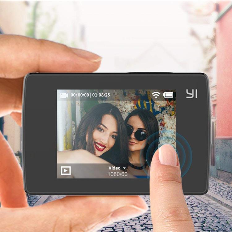 Camera Hành Động Yi Lite Action 4K Quốc Tế (Đen) - Hàng chính hãng