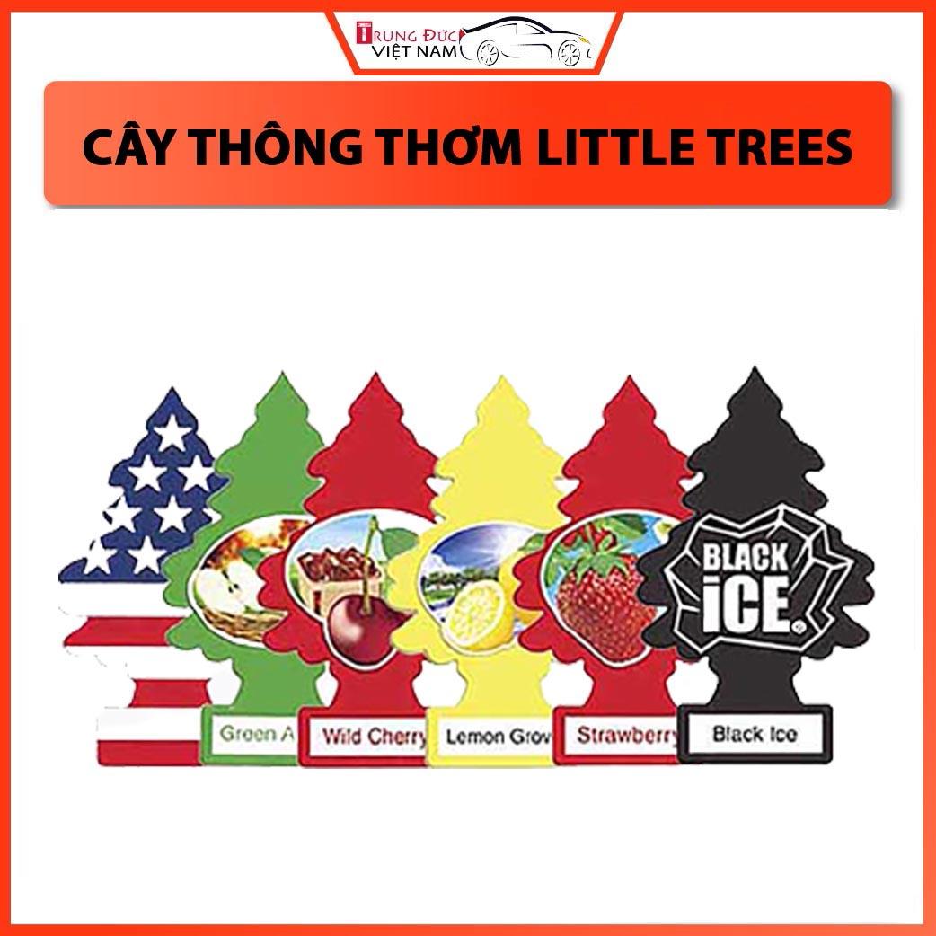 Cây Thông Thơm Little Trees Túi Thơm Treo Phòng, Ô tô ( Có nhiều hương lựa chọn ) - Hàng Chính Hãng TDVN 1