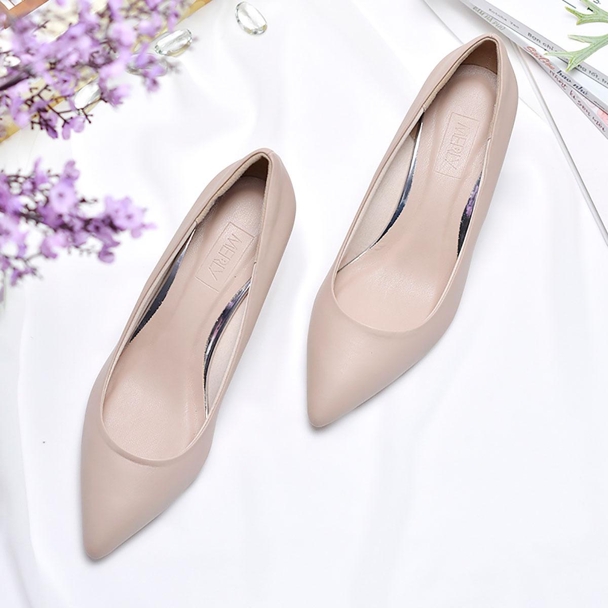 Giày cao gót mũi nhọn Merly 1200 3