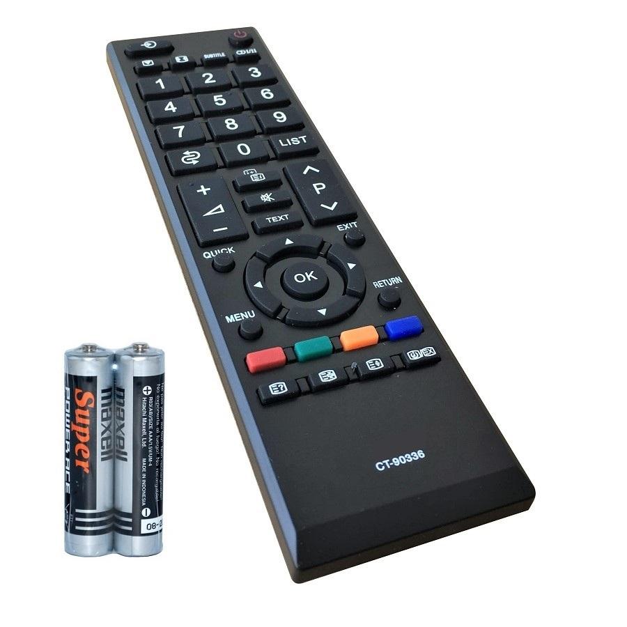 Remote Điều Khiển Cho TV LCD, TV LED TOSHIBA CT-90336 GRADE A+ (Kèm Pin AAA Maxell) 2